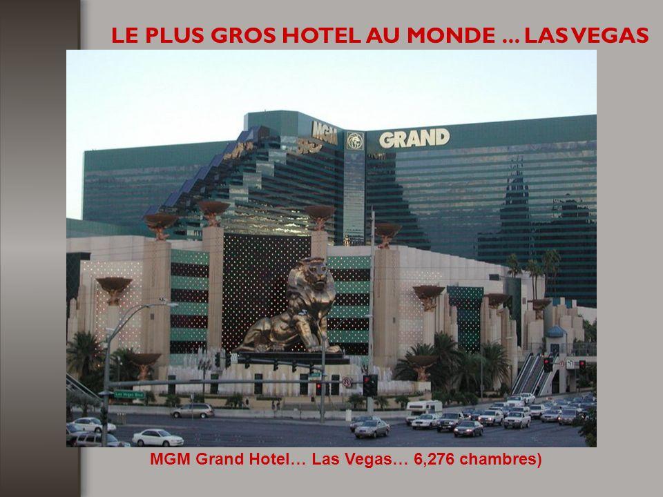 LE PLUS GROS HOTEL AU MONDE ... LAS VEGAS