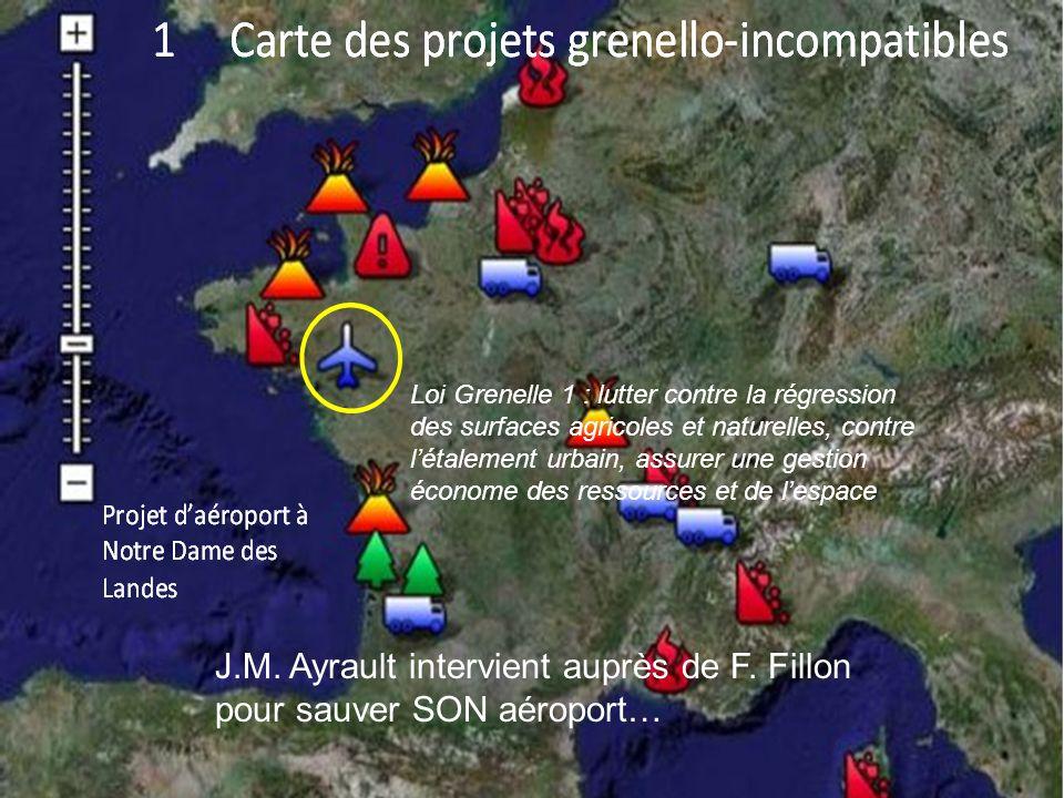 J.M. Ayrault intervient auprès de F. Fillon pour sauver SON aéroport…