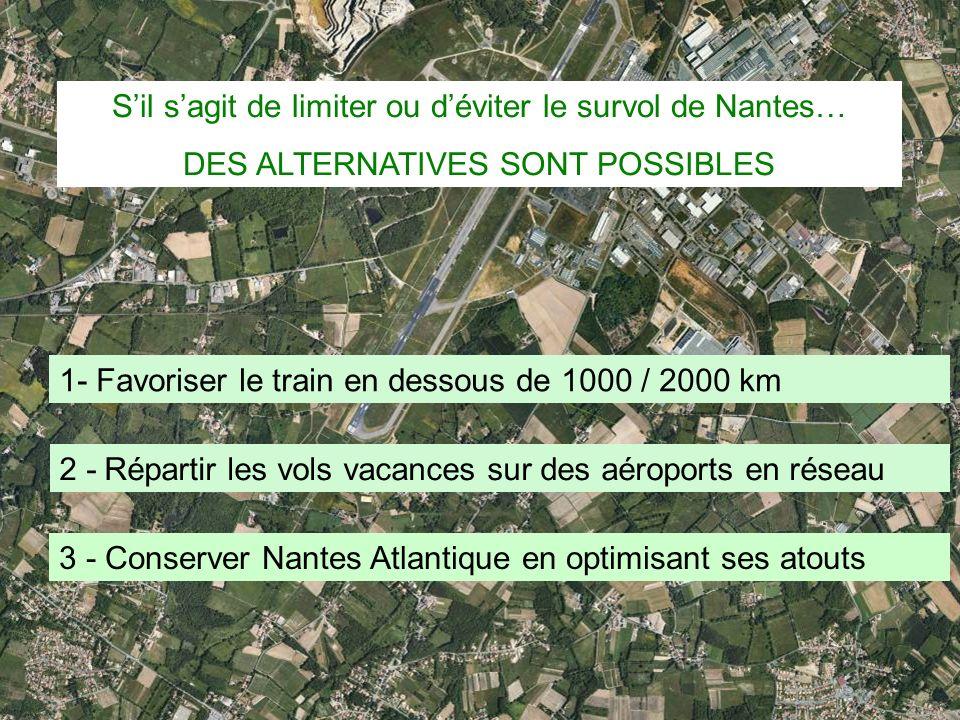 S'il s'agit de limiter ou d'éviter le survol de Nantes…