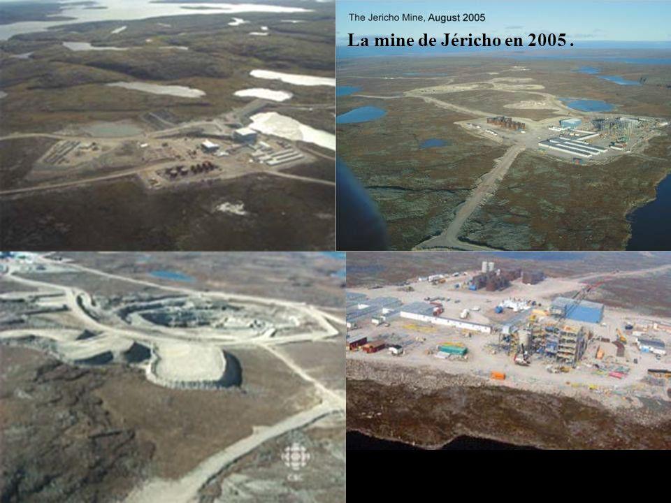 La mine de Jéricho en 2005 .