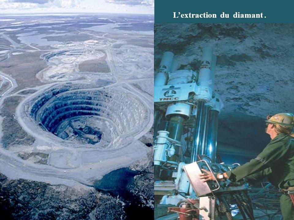L'extraction du diamant .