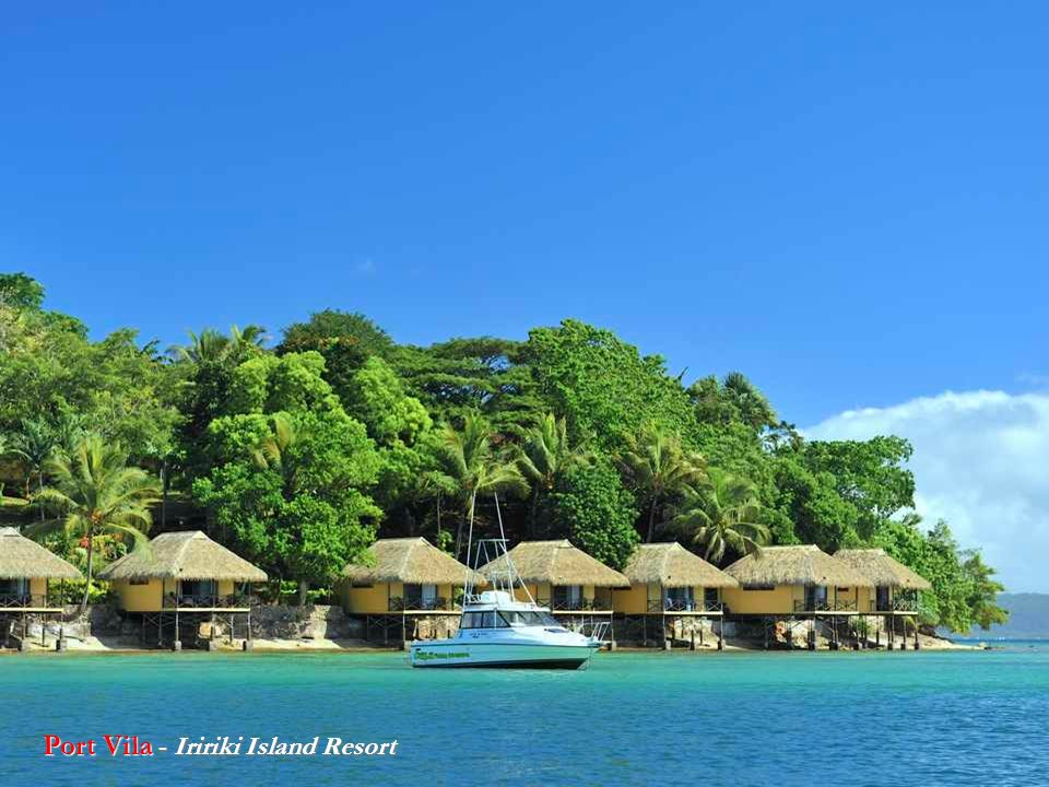 Port Vila - Iririki Island Resort