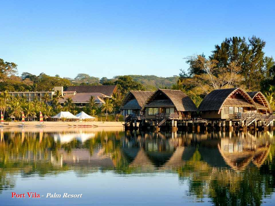 Port Vila - Palm Resort
