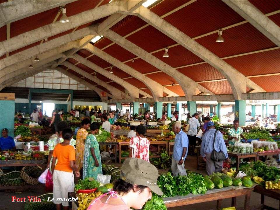 Port Vila - Le marché
