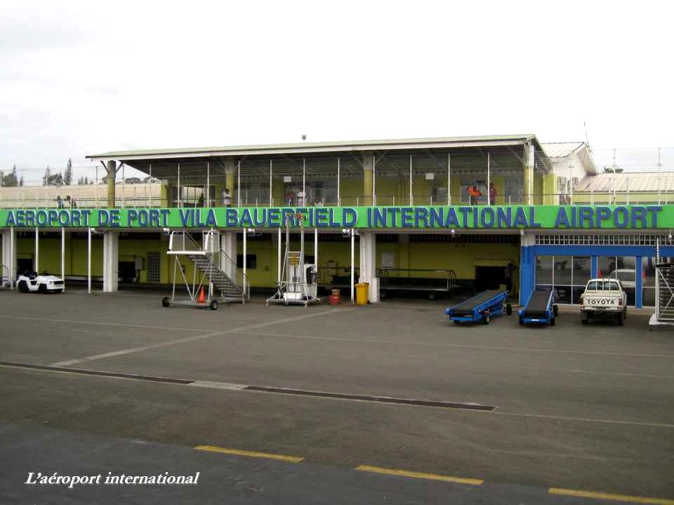 L'aéroport international