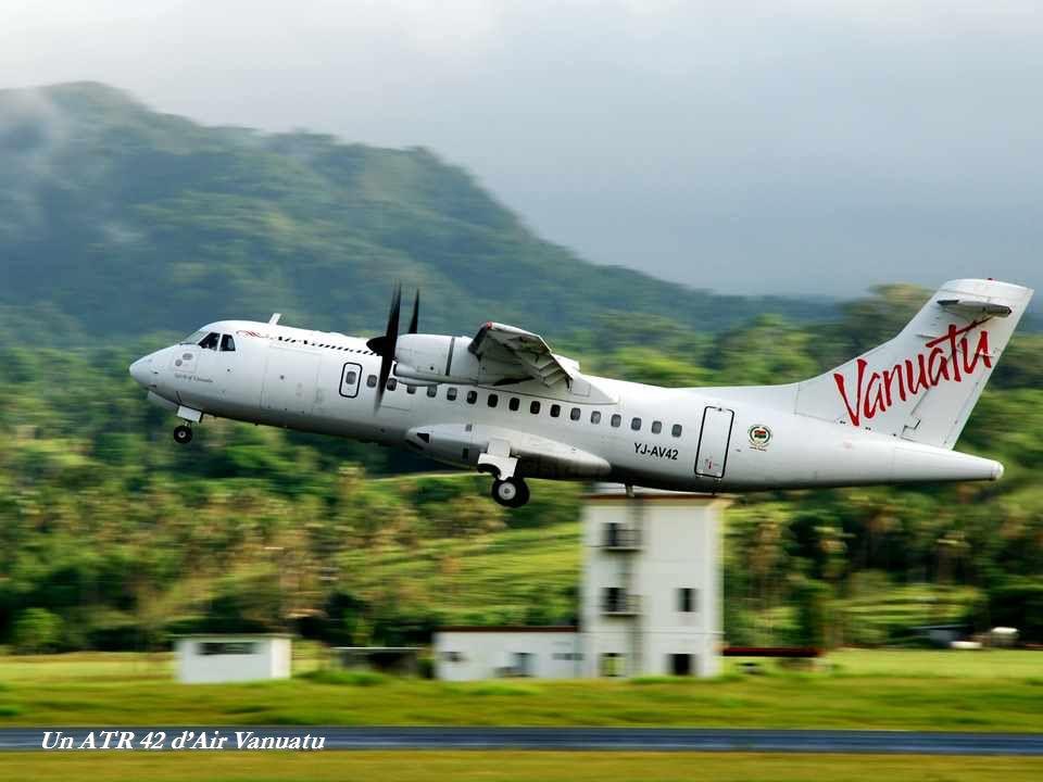 Un ATR 42 d'Air Vanuatu