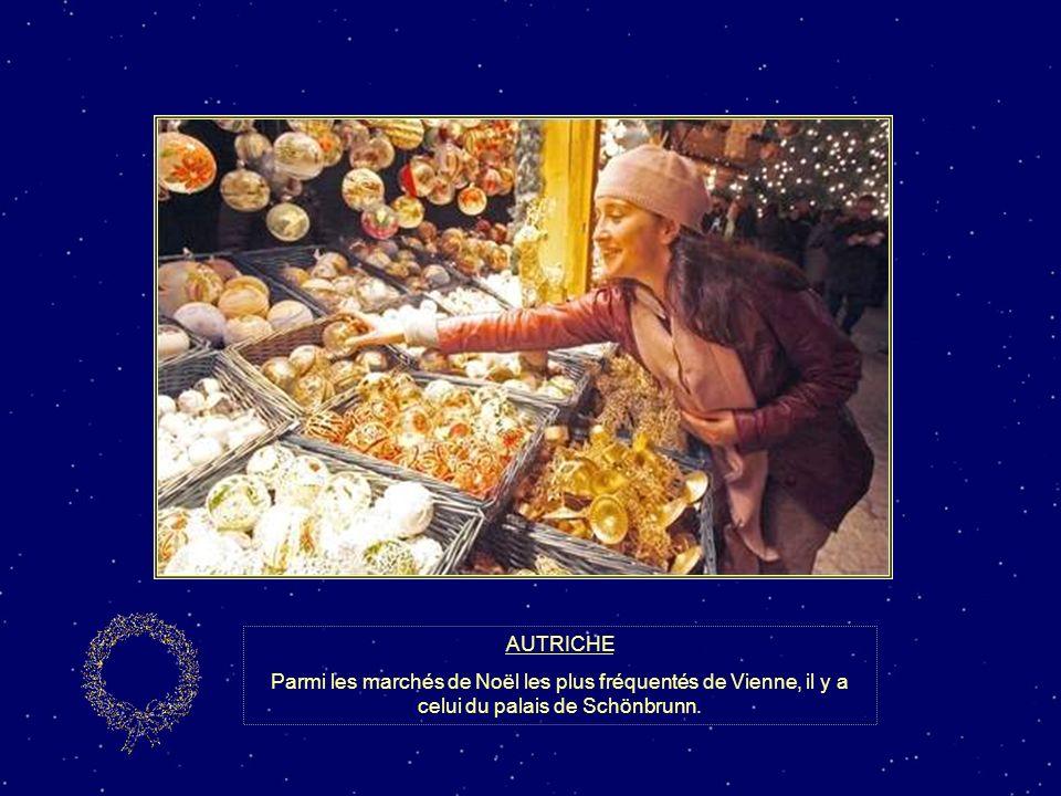 AUTRICHE Parmi les marchés de Noël les plus fréquentés de Vienne, il y a celui du palais de Schönbrunn.