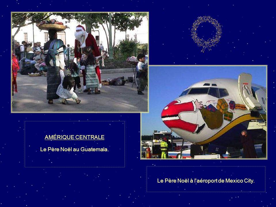 Le Père Noël au Guatemala.