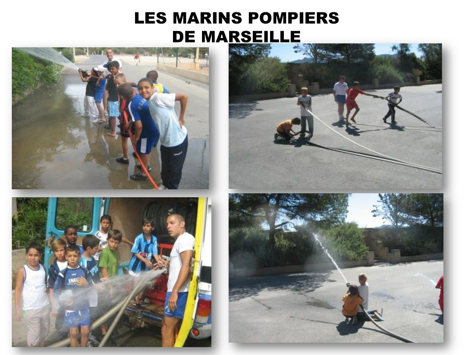 LES MARINS POMPIERS DE MARSEILLE