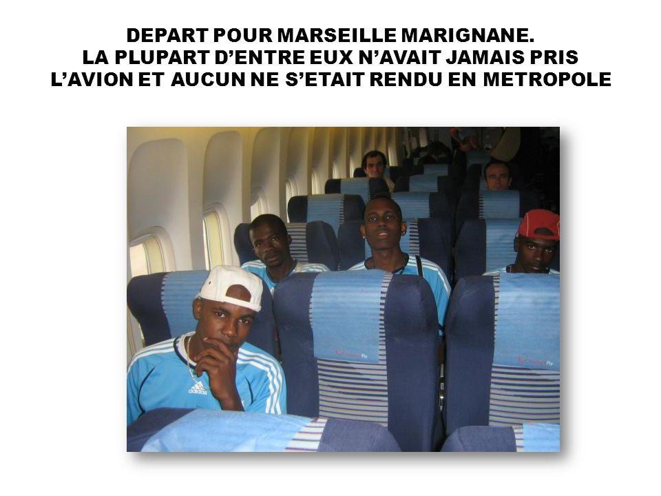 DEPART POUR MARSEILLE MARIGNANE