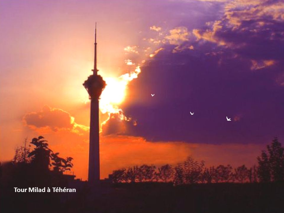 Tour Milad à Téhéran