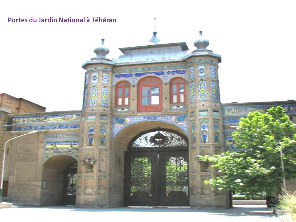 Portes du Jardin National à Téhéran