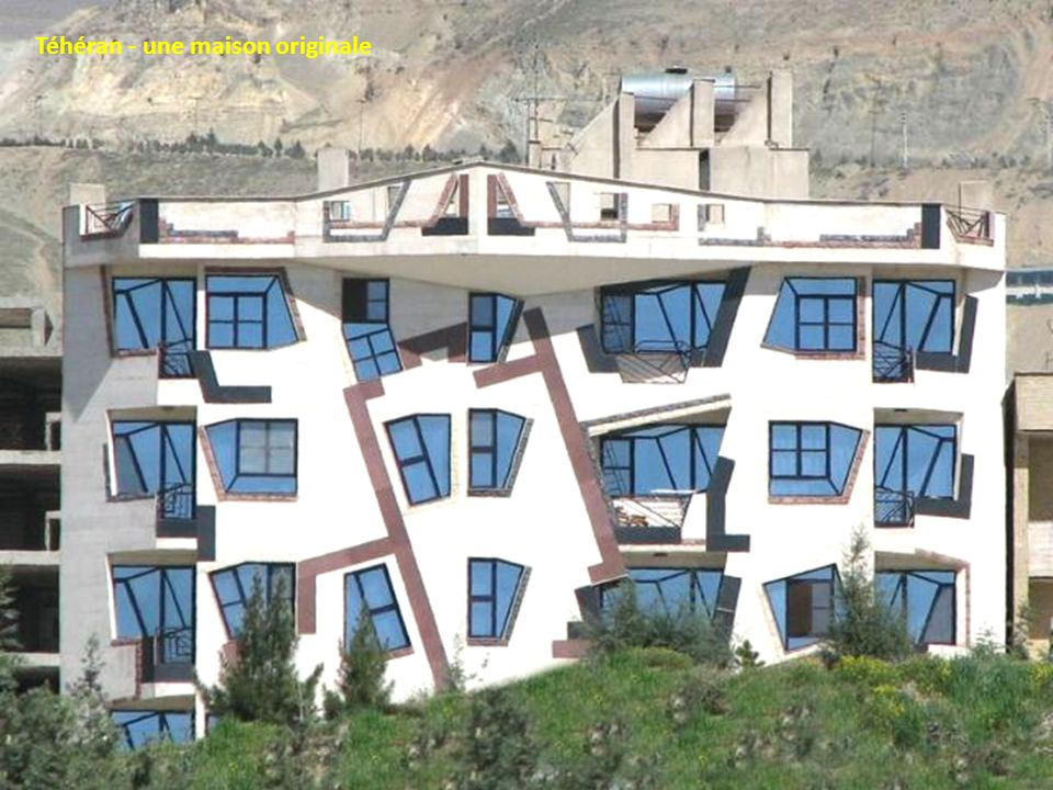 Téhéran - une maison originale