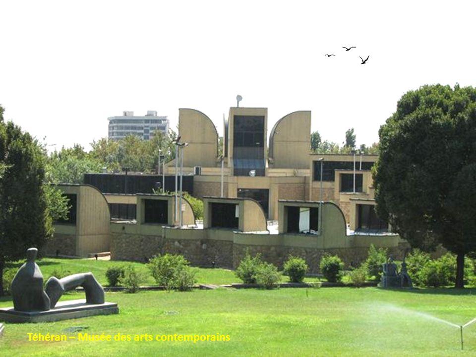 Téhéran – Musée des arts contemporains