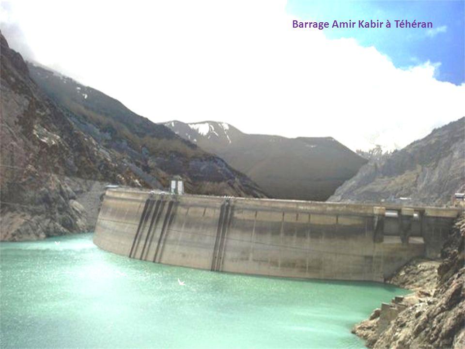 Barrage Amir Kabir à Téhéran