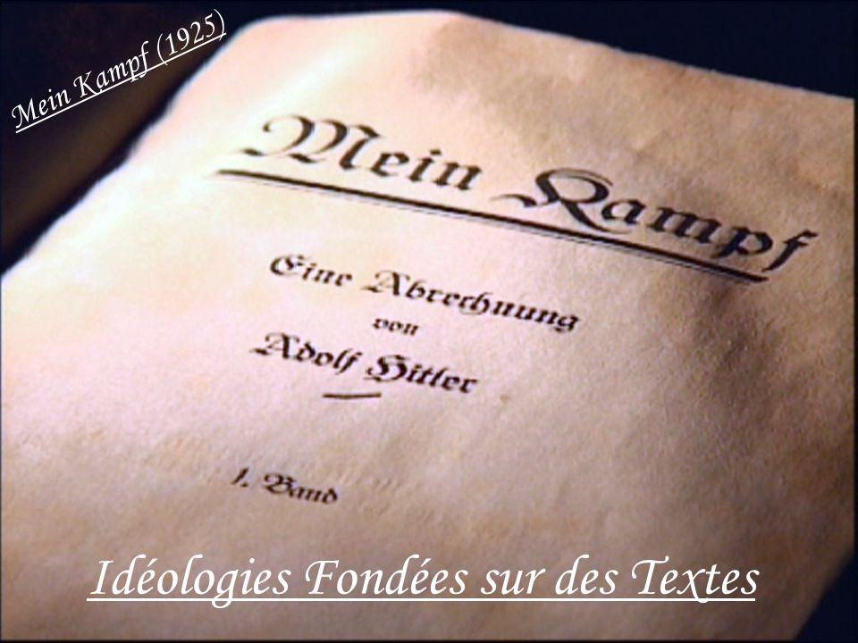 Idéologies Fondées sur des Textes