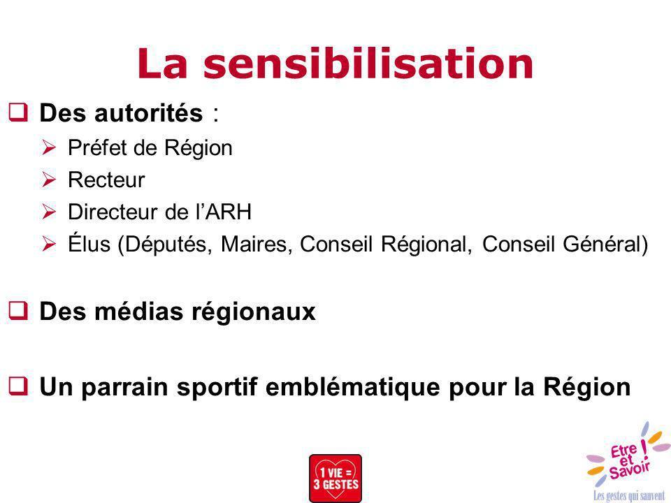 La sensibilisation Des autorités : Des médias régionaux