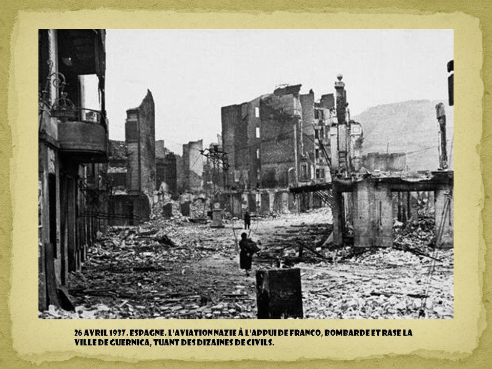 26 avril 1937. Espagne.