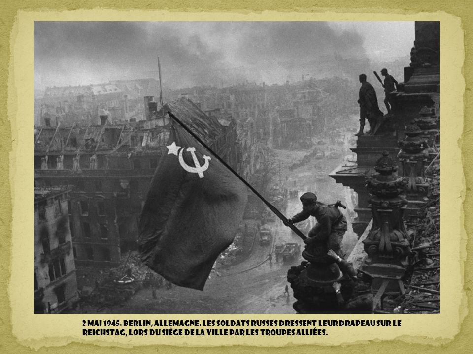 2 mai 1945. Berlin, Allemagne.