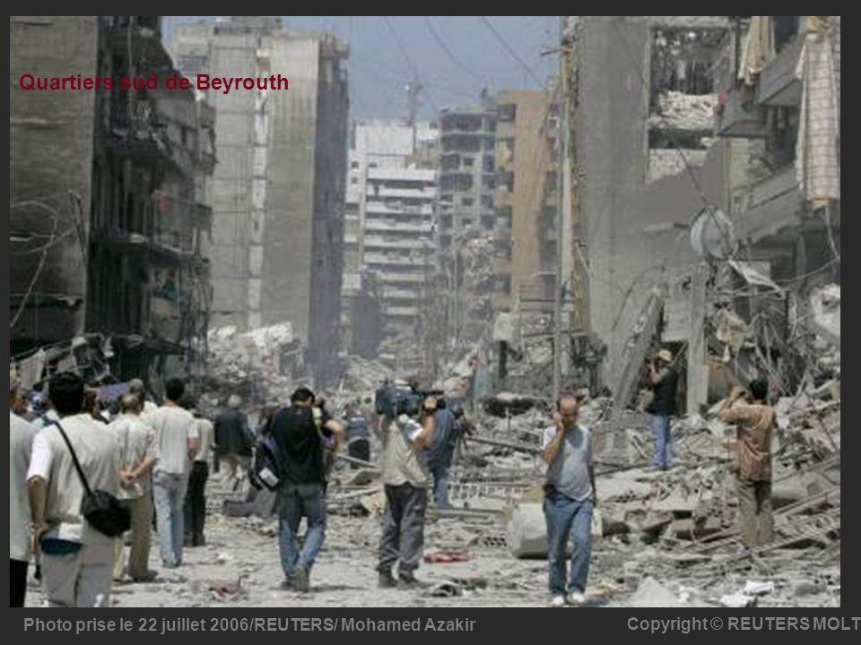 Quartiers sud de Beyrouth