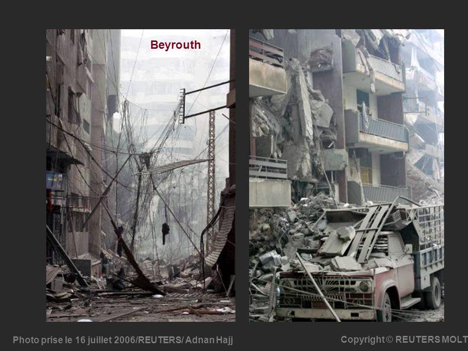 Beyrouth Photo prise le 16 juillet 2006/REUTERS/ Adnan Hajj
