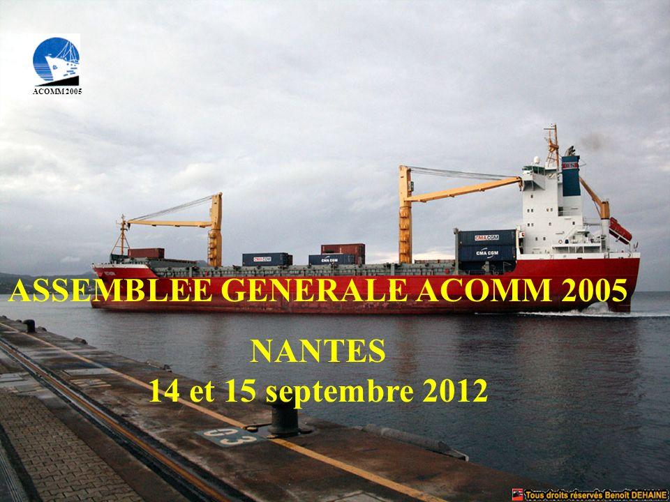 ASSEMBLEE GENERALE ACOMM 2005