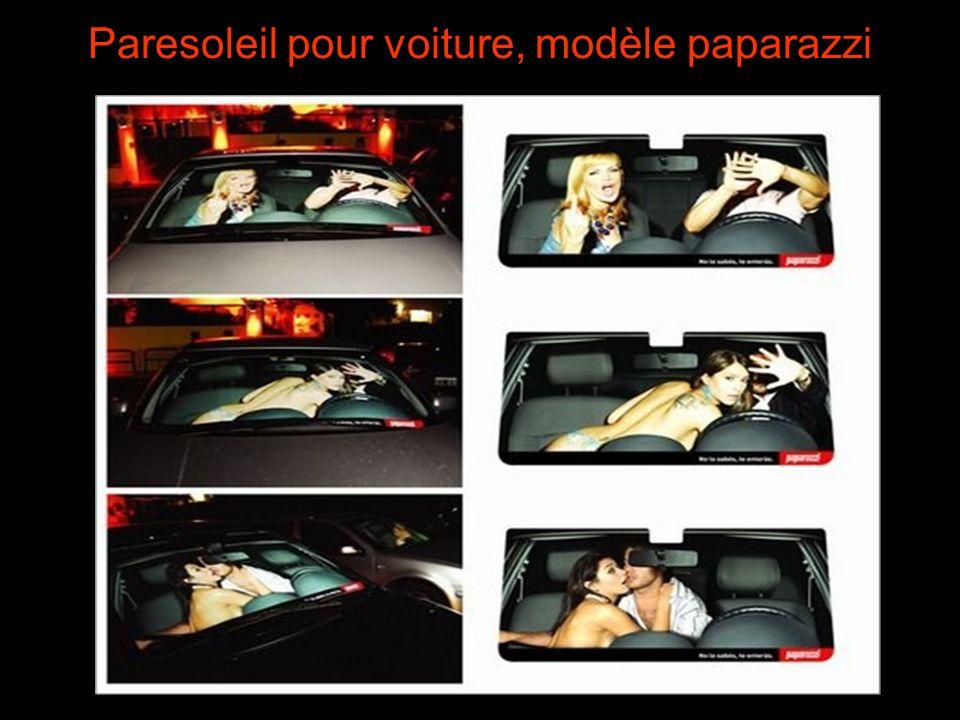 Paresoleil pour voiture, modèle paparazzi