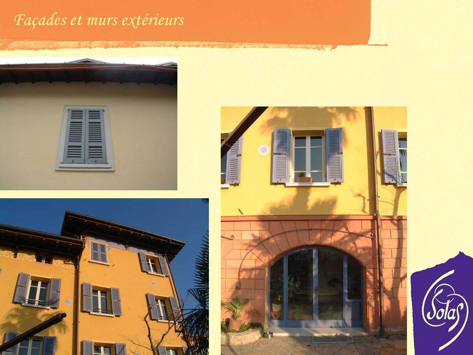 Façades et murs extérieurs