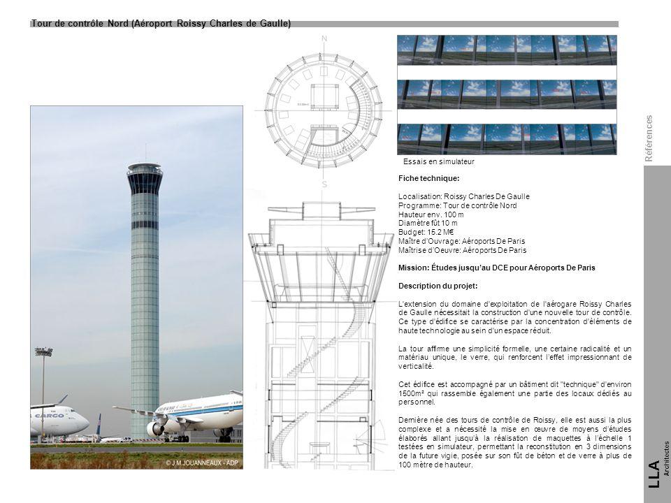 LLA 10 Tour de contrôle Nord (Aéroport Roissy Charles de Gaulle)