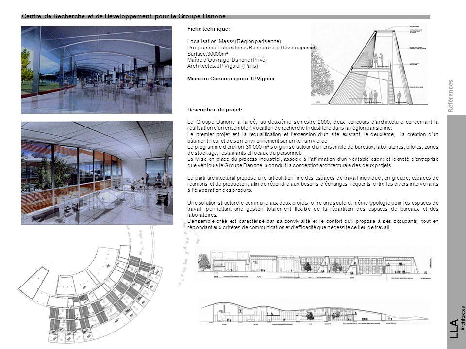 LLA 7 Centre de Recherche et de Développement pour le Groupe Danone