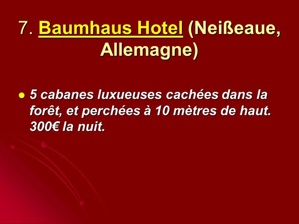 7. Baumhaus Hotel (Neißeaue, Allemagne)