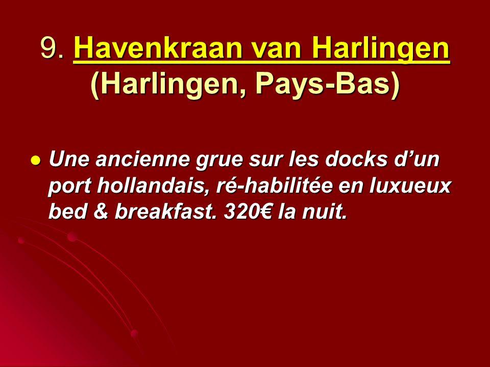 9. Havenkraan van Harlingen (Harlingen, Pays-Bas)