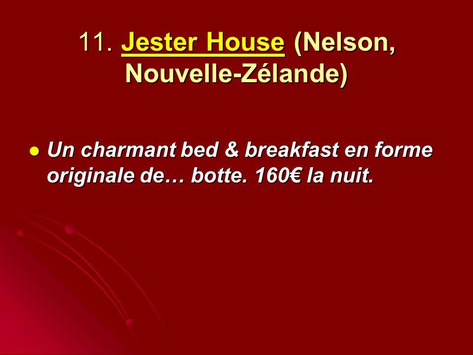 11. Jester House (Nelson, Nouvelle-Zélande)