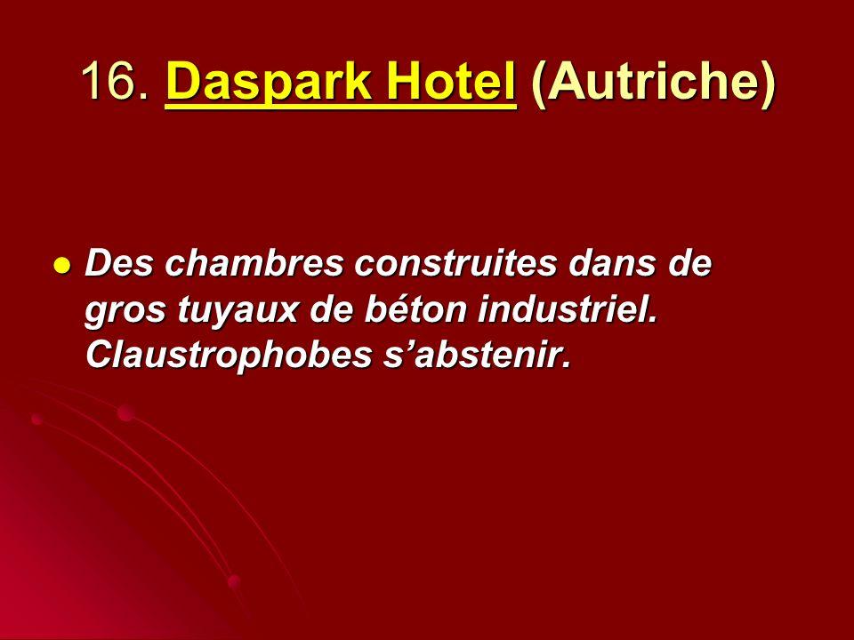 16. Daspark Hotel (Autriche)