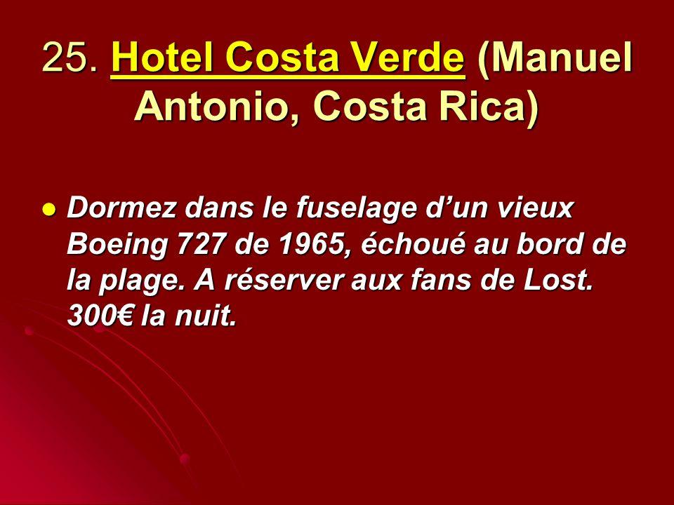 25. Hotel Costa Verde (Manuel Antonio, Costa Rica)