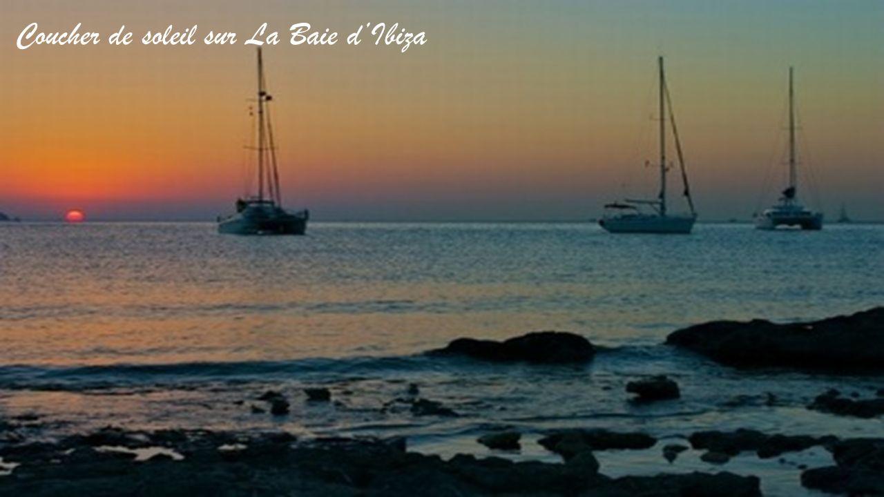 Coucher de soleil sur La Baie d'Ibiza