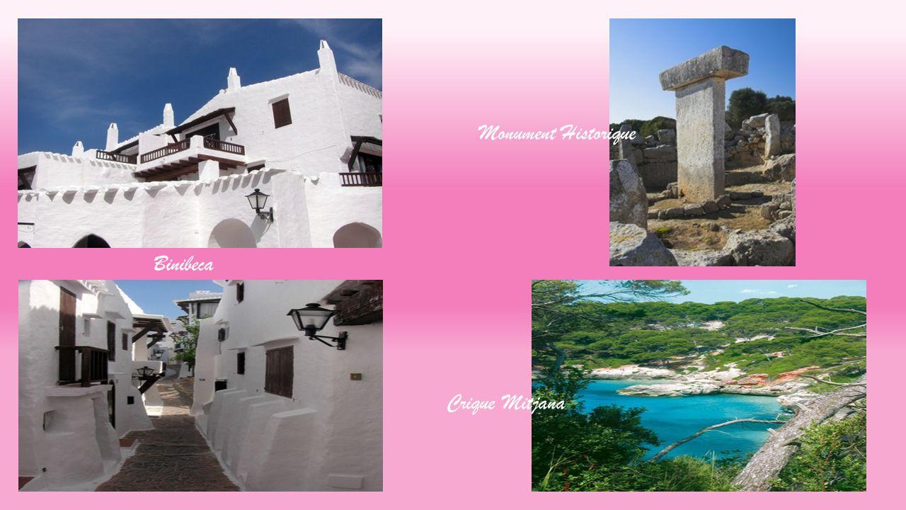 Monument Historique Binibeca Crique Mitjana