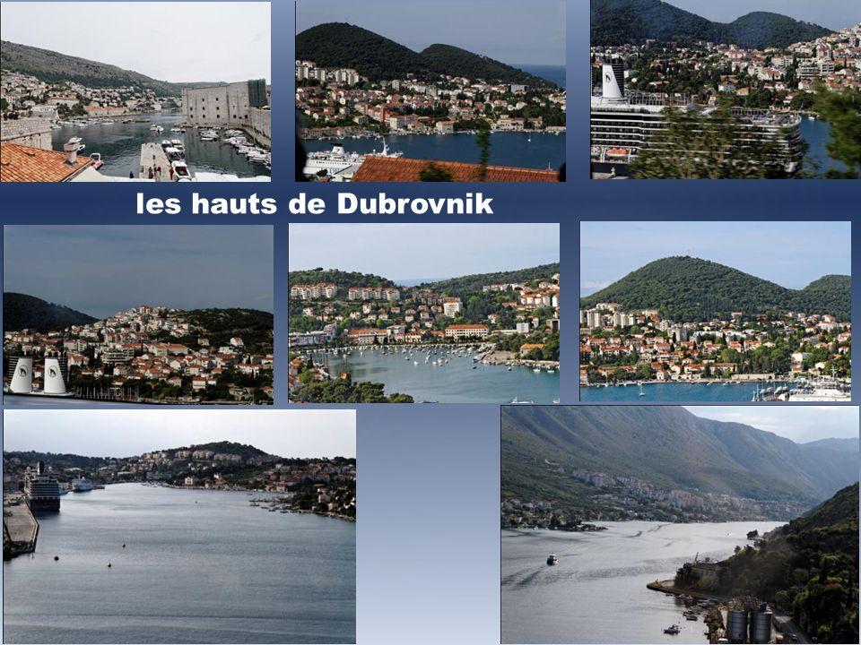 les hauts de Dubrovnik