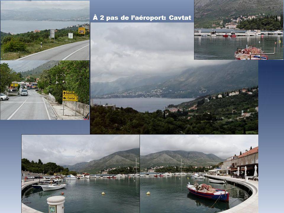 À 2 pas de l'aéroport: Cavtat