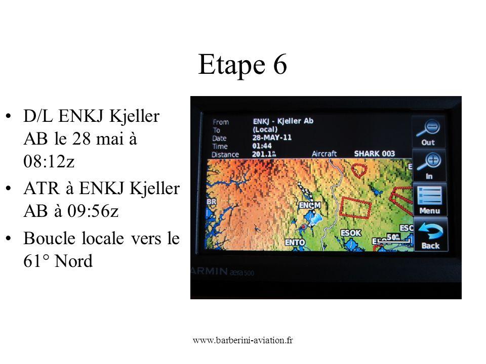 Etape 6 D/L ENKJ Kjeller AB le 28 mai à 08:12z