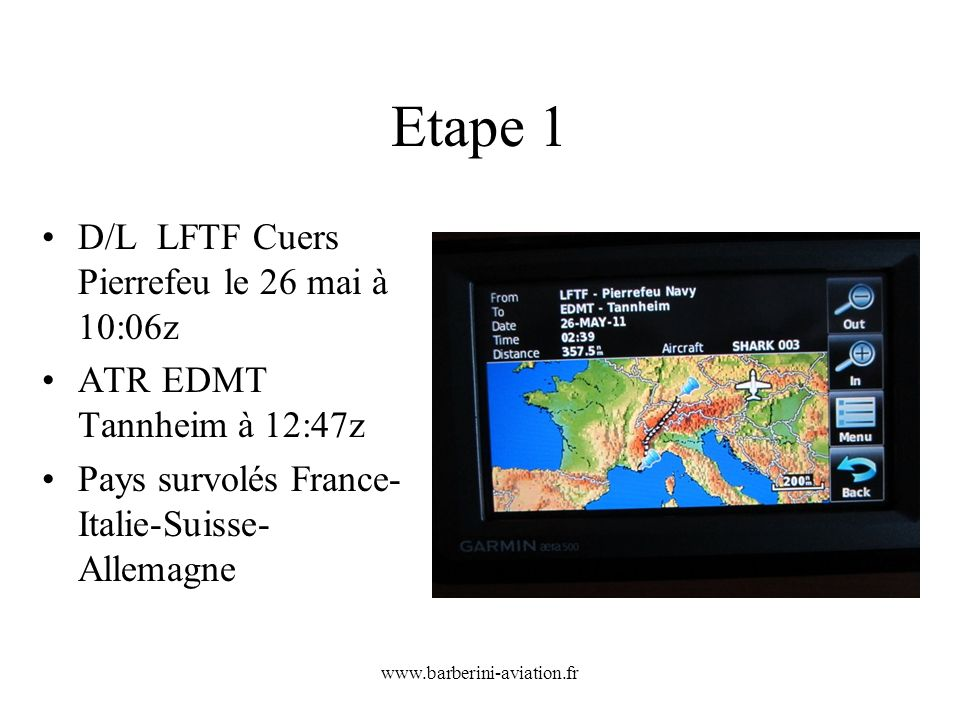 Etape 1 D/L LFTF Cuers Pierrefeu le 26 mai à 10:06z
