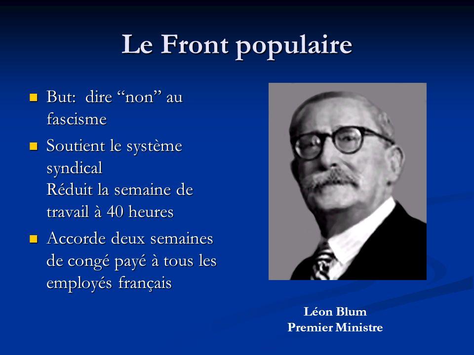 Léon Blum Premier Ministre