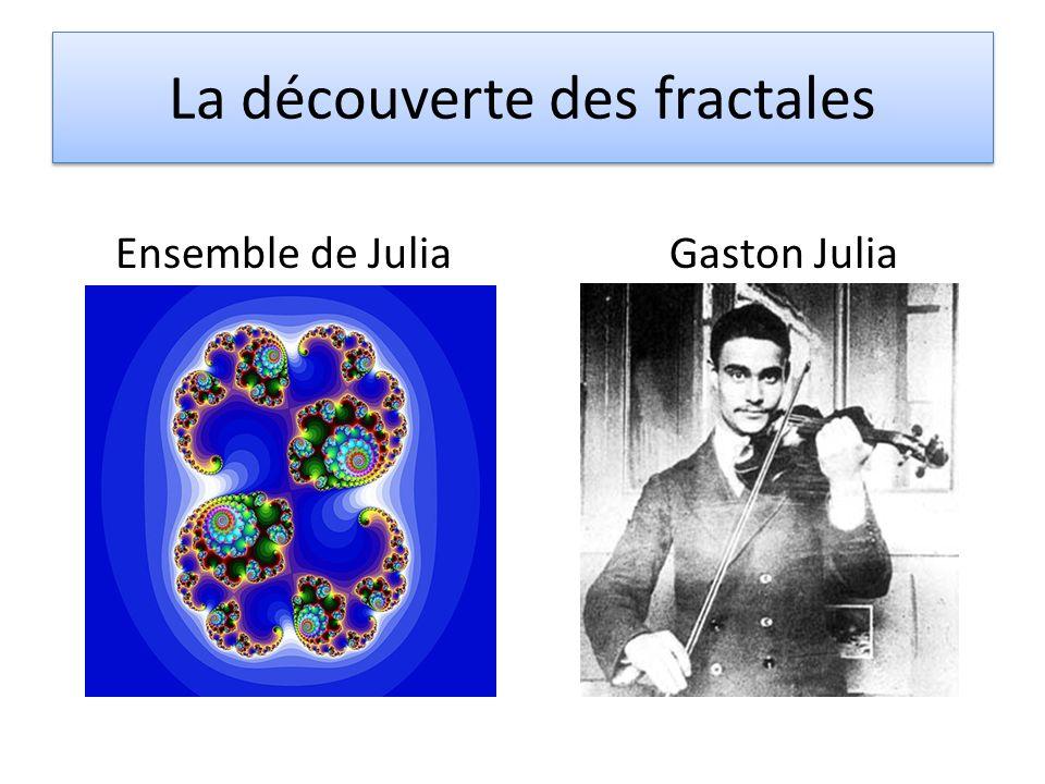 La découverte des fractales