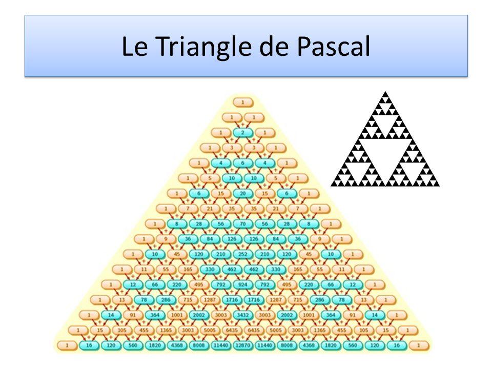 Le Triangle de Pascal