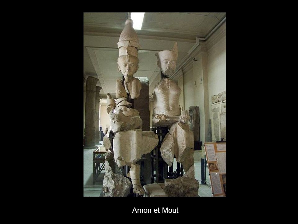 Amon et Mout