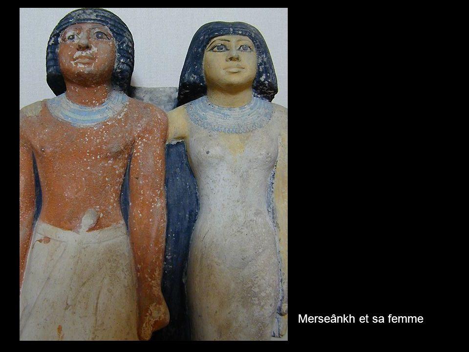 Merseânkh et sa femme