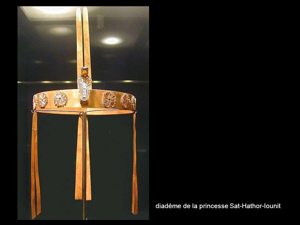 diadème de la princesse Sat-Hathor-Iounit