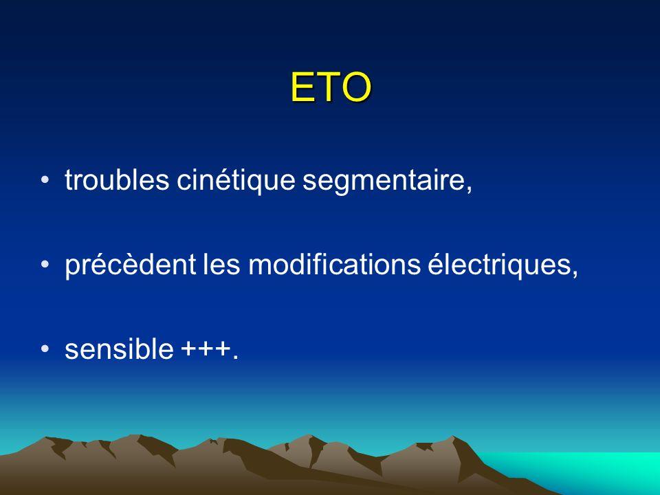 ETO troubles cinétique segmentaire,