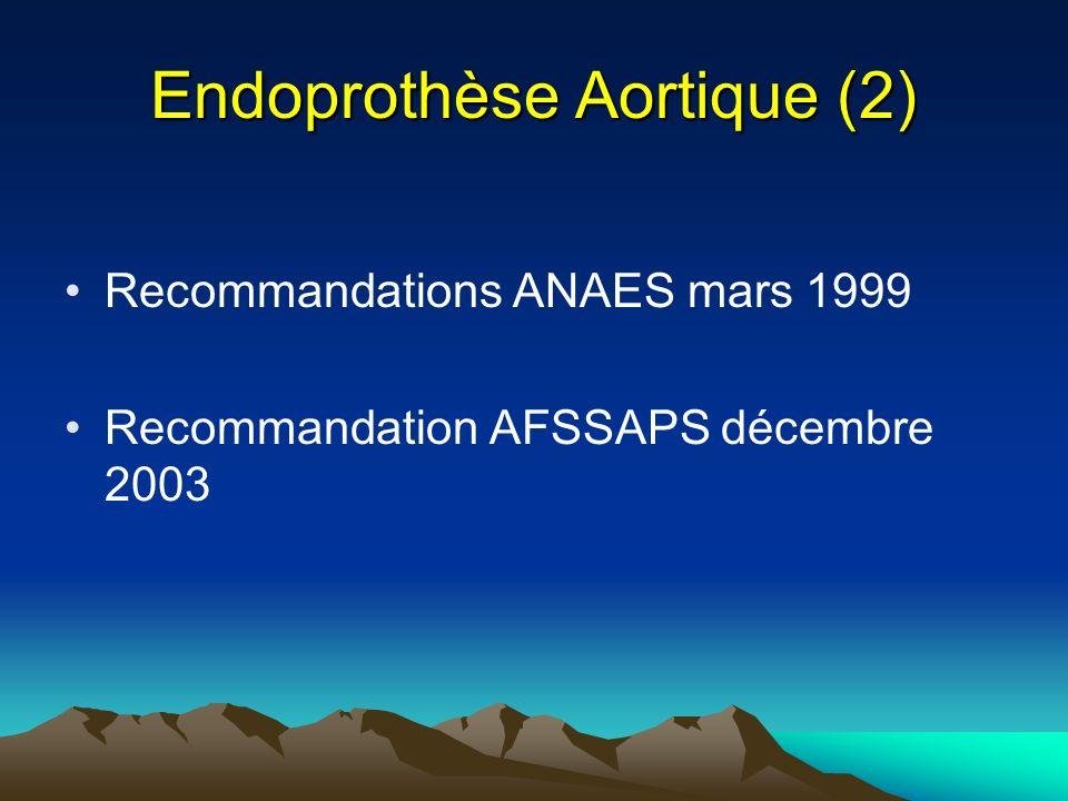 Endoprothèse Aortique (2)