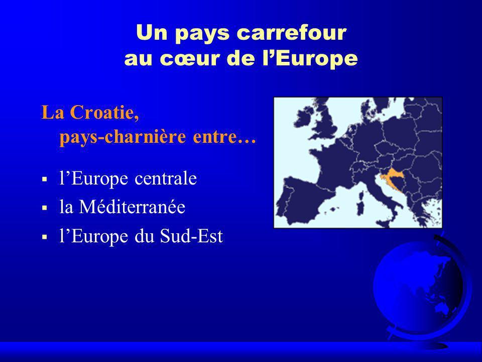 Un pays carrefour au cœur de l'Europe